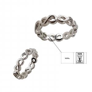 Inel Argint 925% cu simbolul infinitului [1]