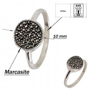 Inel Argint 925% cu marcasite Royal [1]