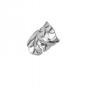 Inel reglabil din Argint 925% Fancy Leaf [0]