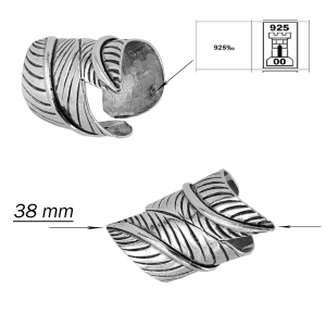 Inel Argint 925% reglabil,Vintage Special [2]