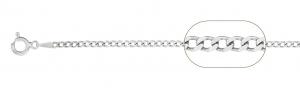 Lant Argint 925% barbatesc,model grumetta-hollow, cod 2505 [2]