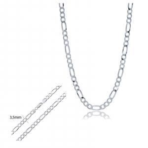 Lant Argint 925% model Figaro 60cm [1]