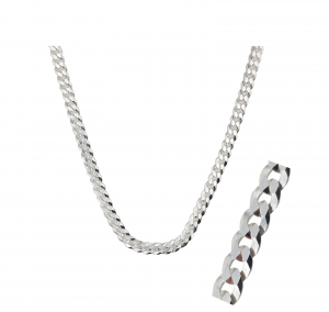 Lant Argint 925% model Grumetta, 55cm [0]