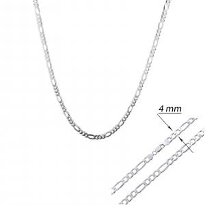 Lant Argint 925% pentru barbati model Figaro de 4mm [1]