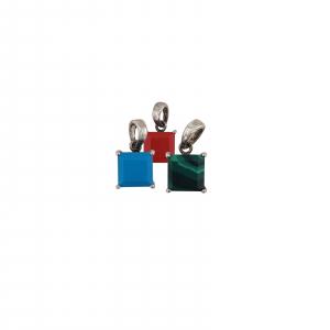 Medalion Argint 925% ,coral rosu 2118A [1]