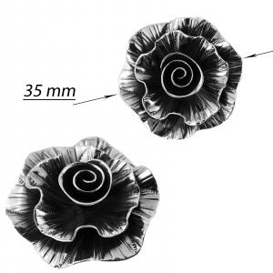 Medalion Argint 925% usor antichizat Rock-Rose [2]