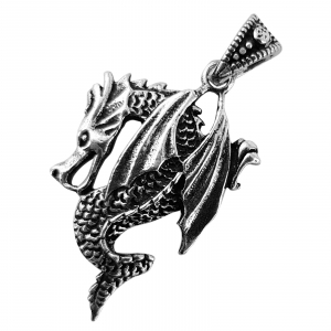 Medalion Argint 925% Dragon [1]