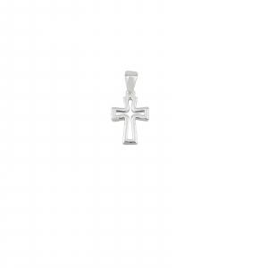 Pandantiv din Argint 925% in forma de cruce decupata 1966 [1]