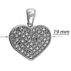Medalion Argint 925% Glowing Heart [2]
