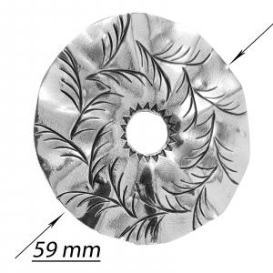 Medalion Argint 925% Fancy Leaf [1]