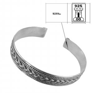 Bratara fixa din Argint 925% Twine [2]