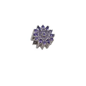 Talisman Argint 925% Purple Flower [0]