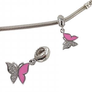 Talisman Argint 925% Pink Wing [1]