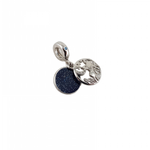 Talisman Argint 925% Moon and Fox [0]