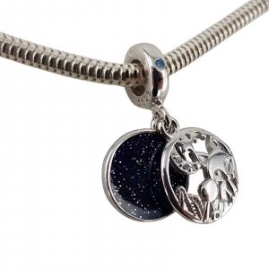 Talisman Argint 925% Moon and Fox [2]