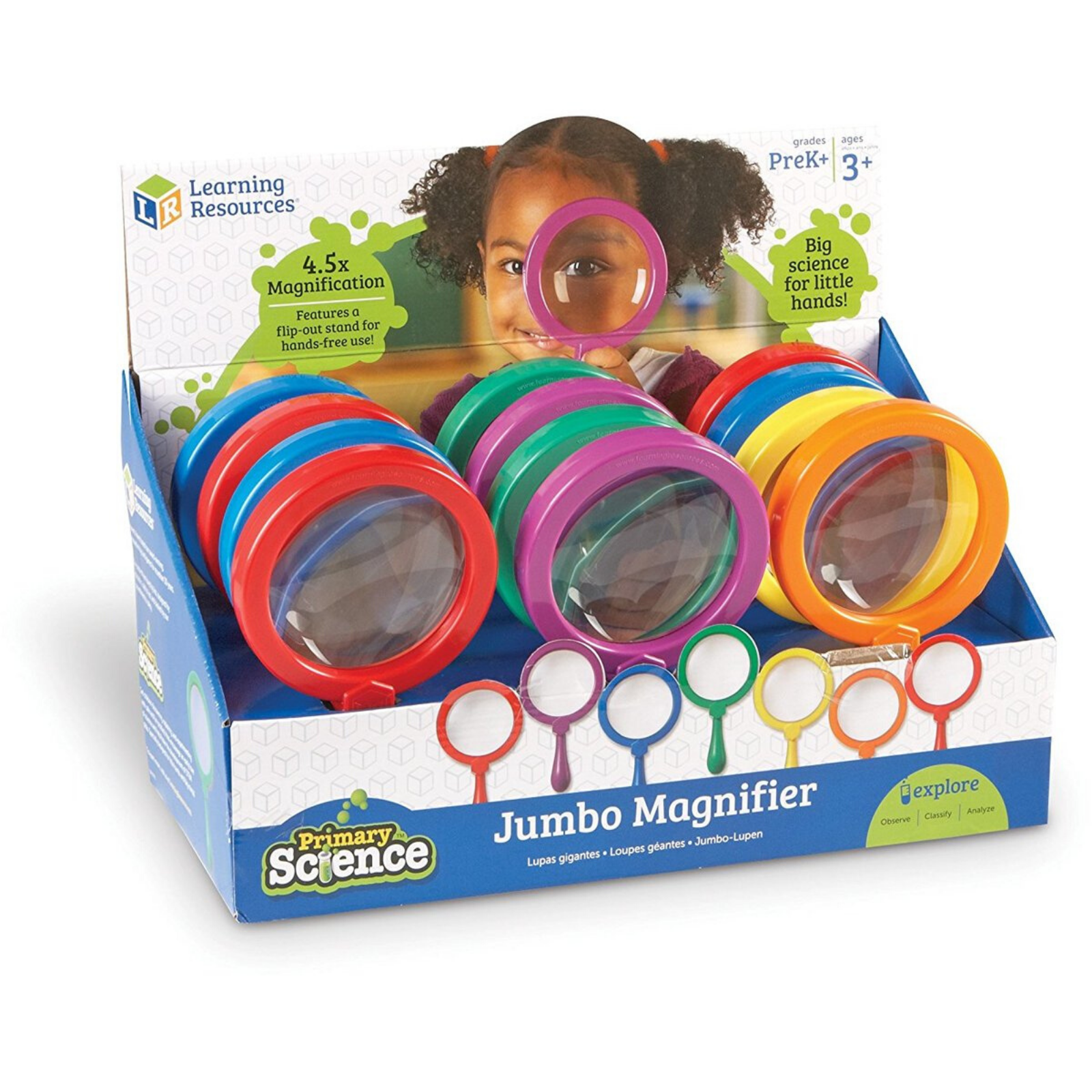Lupa Jumbo Magnifier - Learning Resources [1]