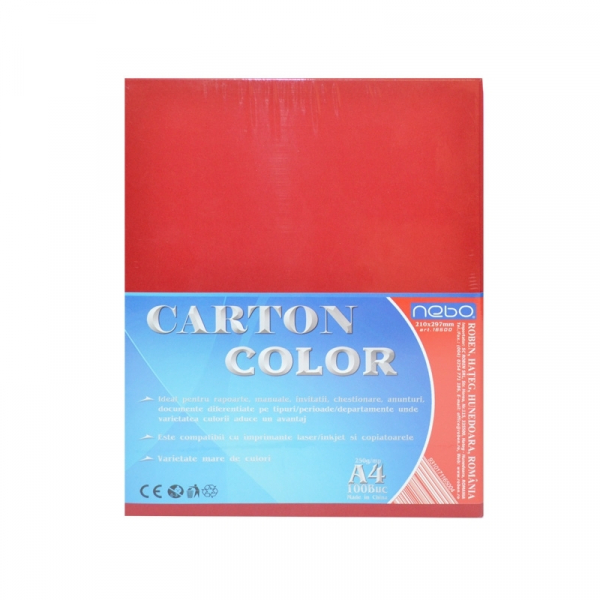 Carton color A4 250g Set 100 1