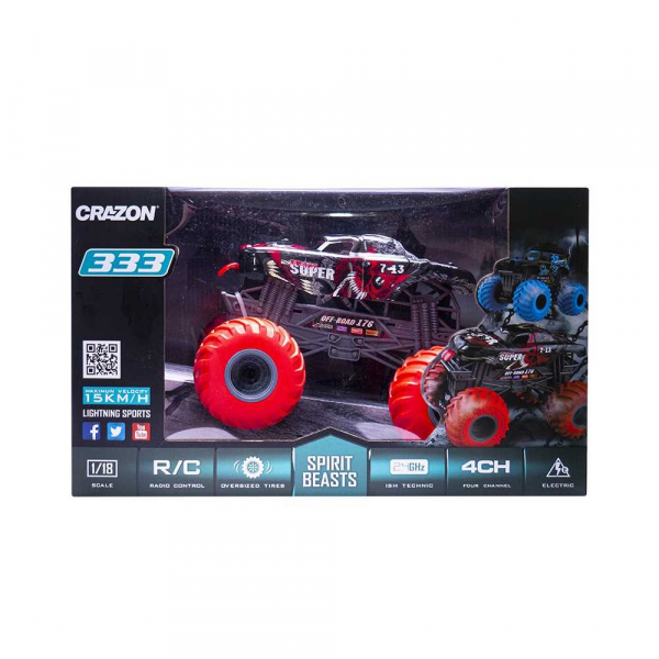 Jeep Monster Truck, RC+AC, USB 2