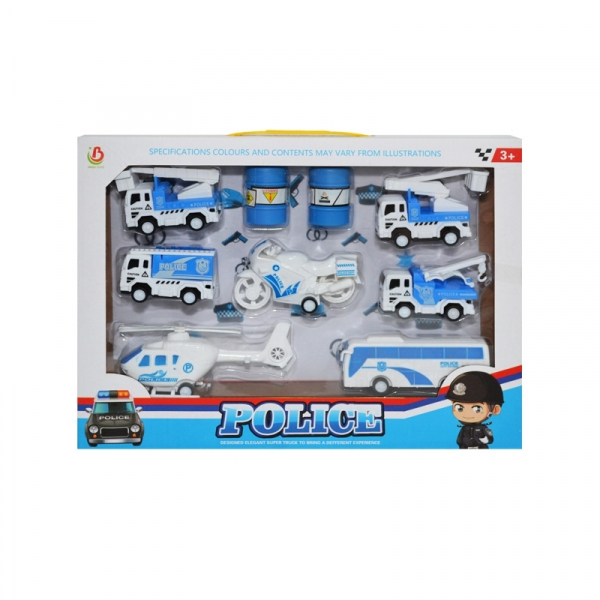 Play set politie - vehicule + containere [0]