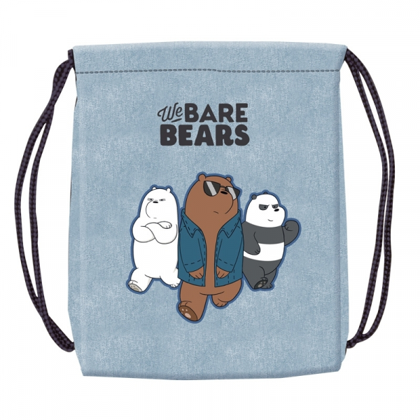 Sac sport We Bare Bears, 46x35,5 cm 1