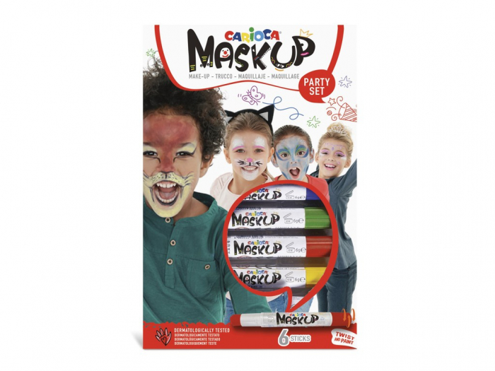 Set face painting Carioca Mask-Up Party [0]