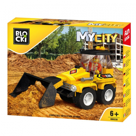Lego My City - Mini Buldozer0