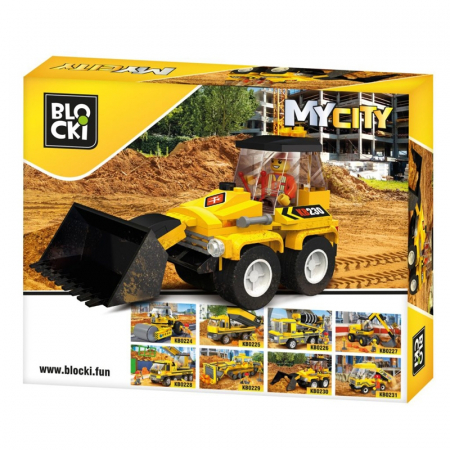Lego My City - Mini Buldozer1