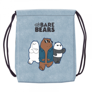 Sac sport We Bare Bears, 46x35,5 cm0