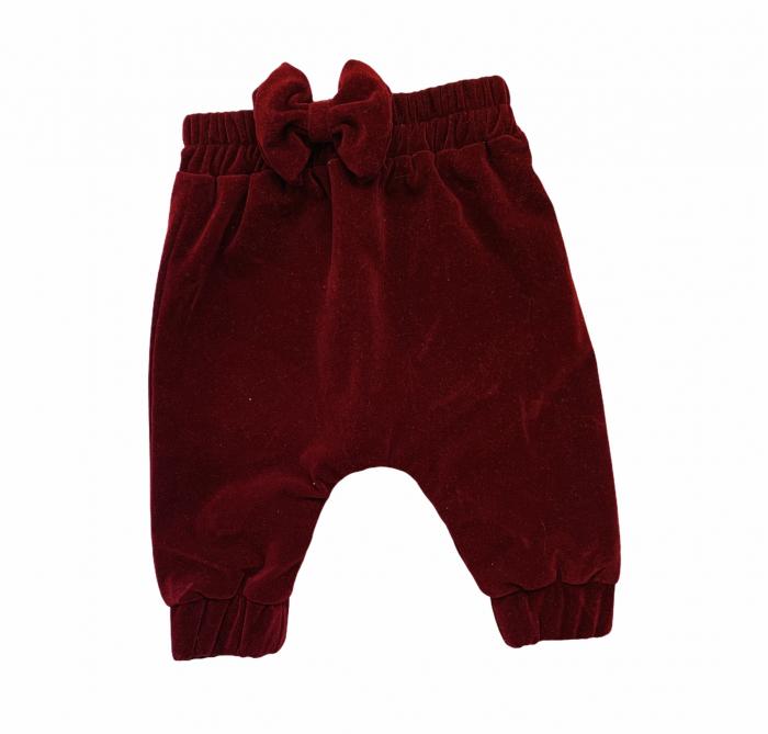 Pantaloni Tiny din catifea [0]