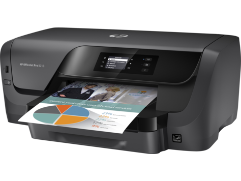 HP Officejet Pro 8210 imprimanta color A4 3