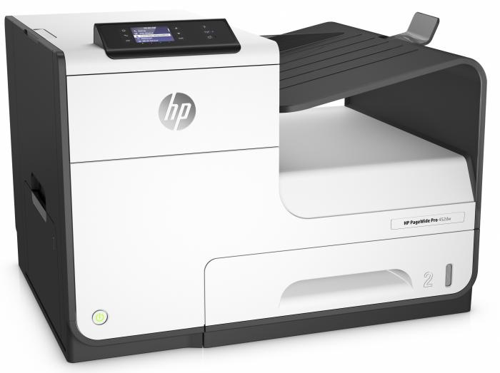 HP PageWide Pro 452dw imprimanta color A4  Wireless 2