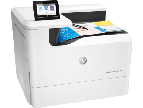 Imprimanta Inkjet HP PageWide Enterprise Color 765dn 0