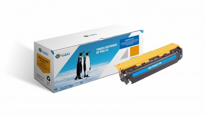CF211A Cartus Toner Cyan 1,8K Compatibil HP 0