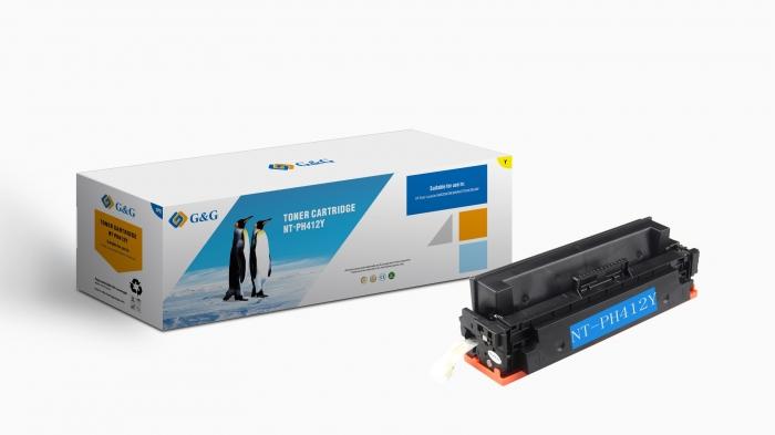 CF412X Cartus Toner Yellow Nr.410X 5K Compatibil HP 0