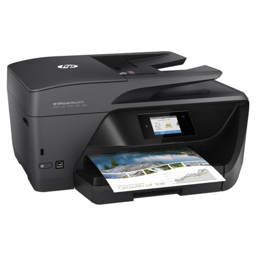 Multifunctional Inkjet HP Officejet Pro 6970 e-All-in-One 0