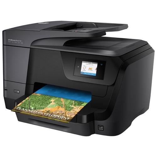 Multifunctional Inkjet HP Officejet Pro 8710 e-All-in-One 0