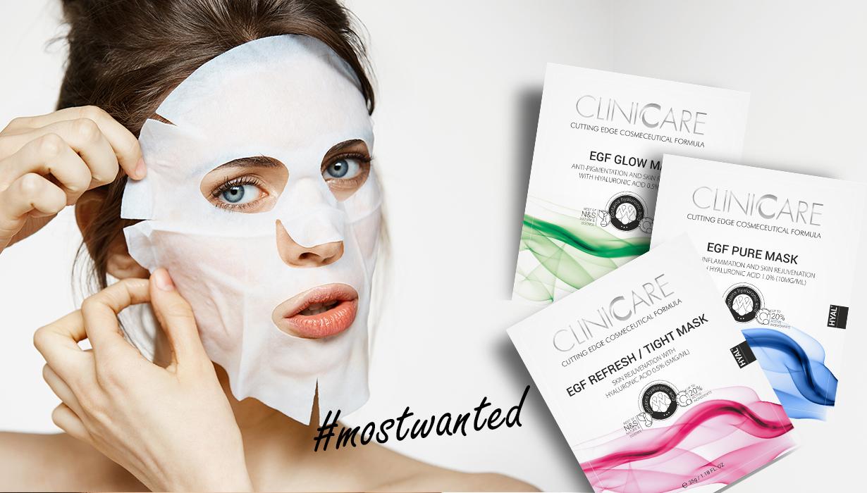Mostwanted ClinicCare EGF Masca Pure Glow Refresh