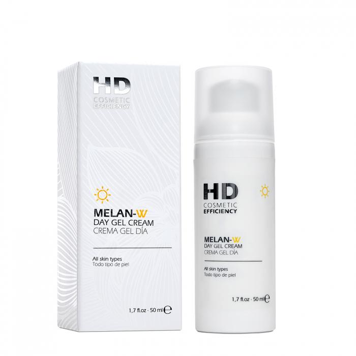 HD MELAN-W Cremă gel de zi cu SPF 0