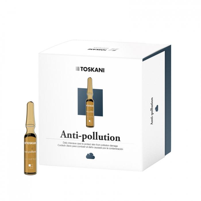 TOSKANI Fiolă Topică Anti-poluare 0