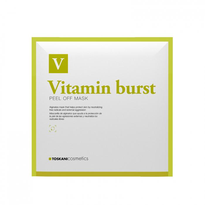 TOSKANI Mască PEEL OFF Vitamin Burst 0