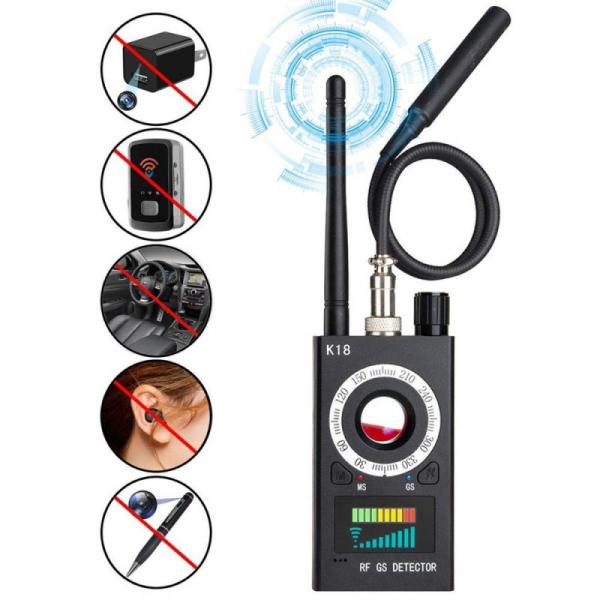 Detector SMT (Gama Completa) Camere / Microfoane / Localizatoare GPS / Reportofoane Hi-Pro - WiFi/GSM/UHF/FM/BT 1