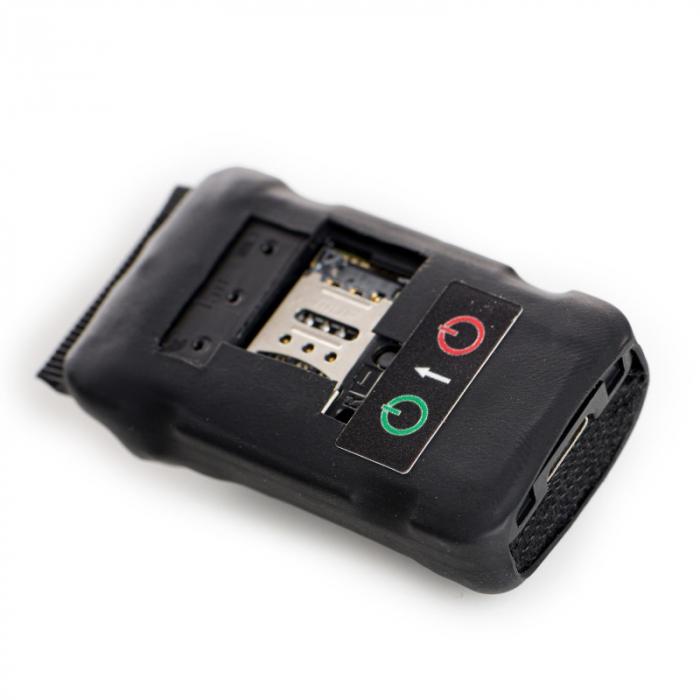 Mini Microfon GSM NanoSIM 4G - 3 zile - 300 mAh - Locatie GPS - Reportofon - SMS Control & Aplicatie [0]