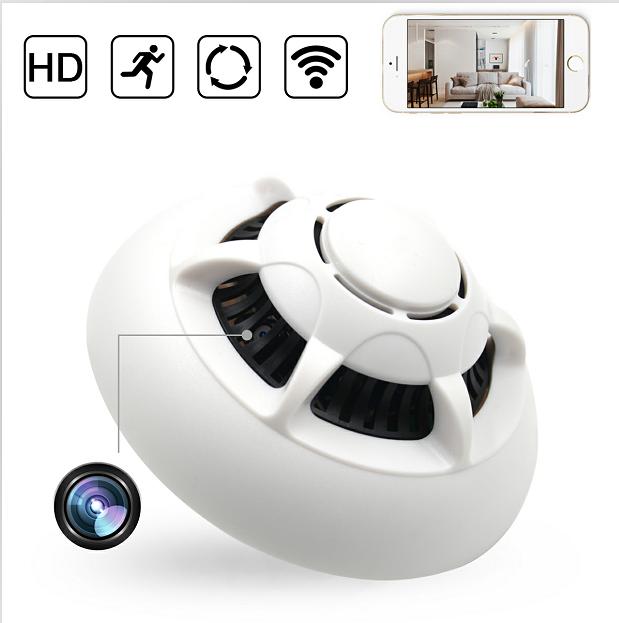 Microcamera Video Wi-Fi P2P/IP Integrata in Senzor de Fum - Transmisie live pe Telefon [1]