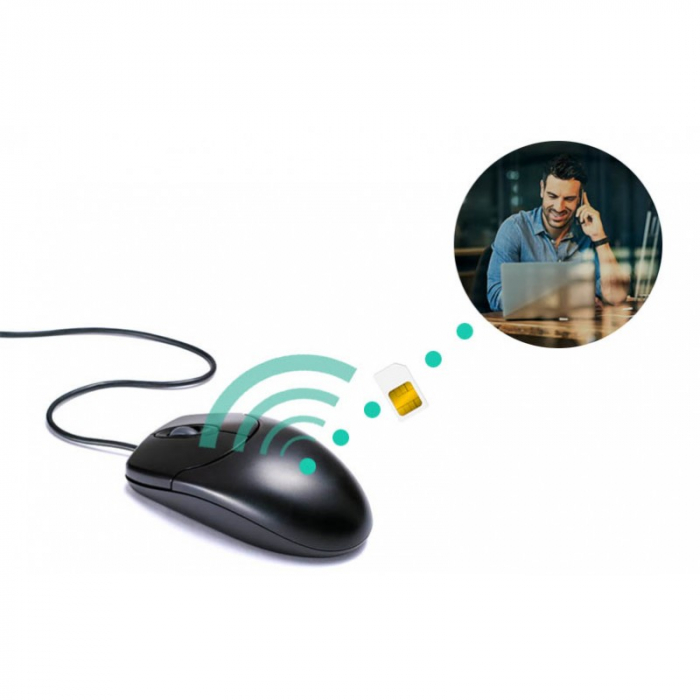Mouse Clasic USB cu Microfon Profesional [1]
