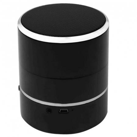 Boxa Bluetooth Portabila cu Microcamera Wi-Fi FULL HD 1080P - Lentila Rotativa - Vizualizare in timp real de la orice distanta [0]