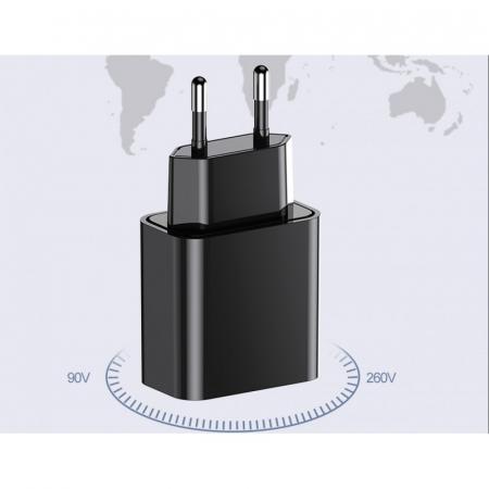 Incarcator 220V-USB Clasic Cu Microfon Asculta in Timp Real, de oriunde! [C8]6