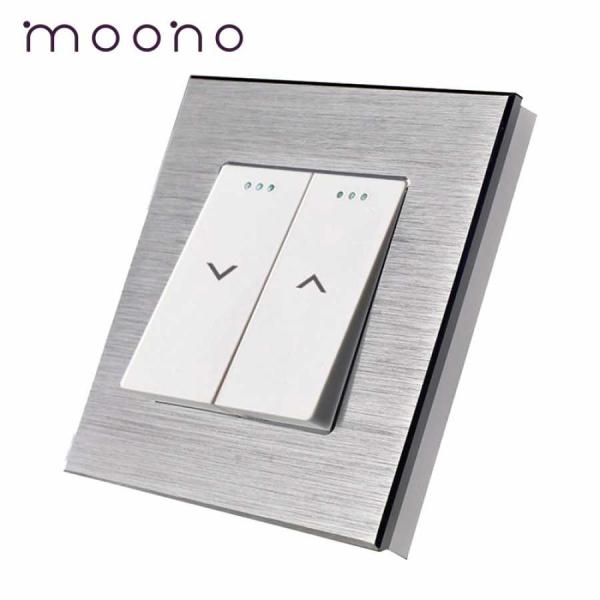 Întrerupător clasic acționare jaluzele M2 moono 0