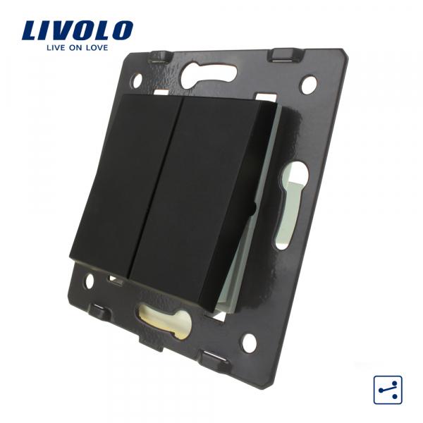 Modul întrerupător clasic dublu cap-scară Livolo 0