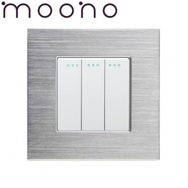 Întrerupător clasic triplu M2 moono 0