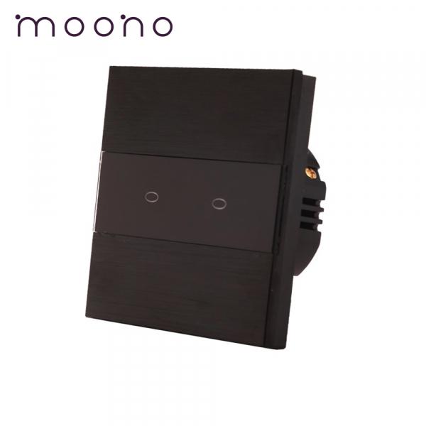 Întrerupător touch dublu M3 moono 0